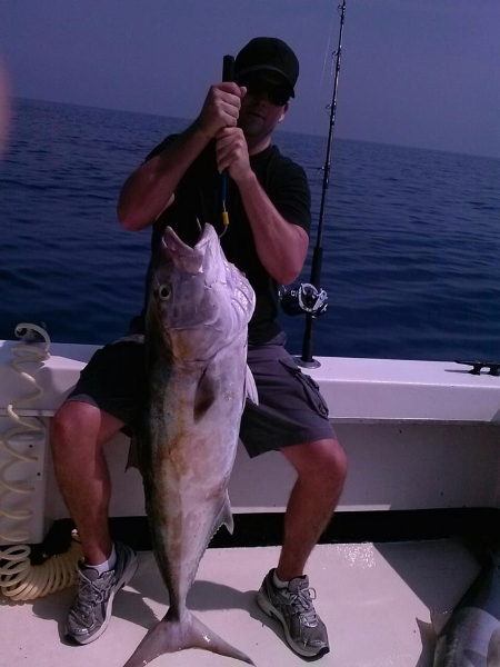 Big amberjack out there